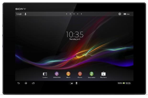 رسميّا:الأعلان عن Sony Xperia Tablet Z خلال مؤتمر  MWC2013
