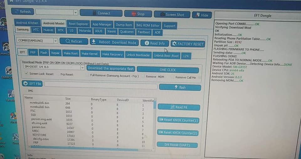 First World Remove Screen Lock And remove mdm G935T U4 8 0