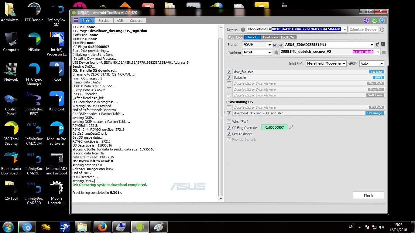 Asus Zenfone 2 - Unbrick - UFIXERS Community