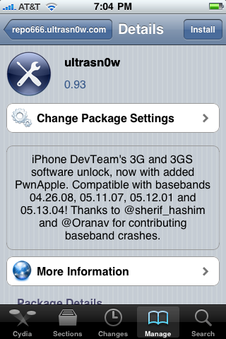 مساعدة لفك شفرة الايفون 4 فيرجن 4.0.1 بايس باند 01.59.00