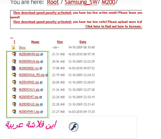 m200فلاشة عربي؟
