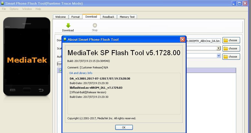 أهداءات : اصدار جديد لبرنامج SP Flash Tool v5 1728 - الصفحة 1