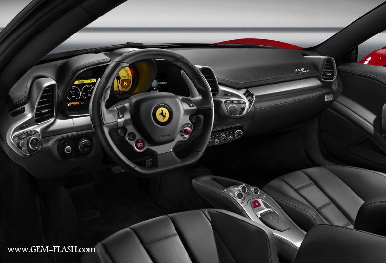 سيـــارة  Ferrari 458 Italia