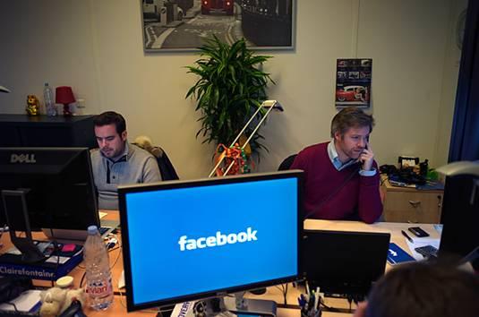 مكاتب شركة الفيس بوك