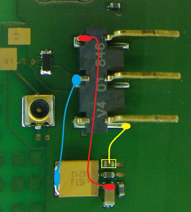 جهاز 5800 عند الضغط على مفتاح البور يعطى هزاز فقط