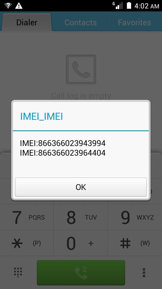موضوع مميز  }~ حصرى: حل مشكلة IMEI:null في الجهاز العنيد G730-U10