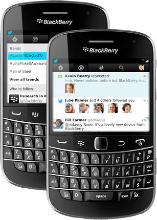 تحديث مهم لتطبيق التويتر على نظام البلاك بيري