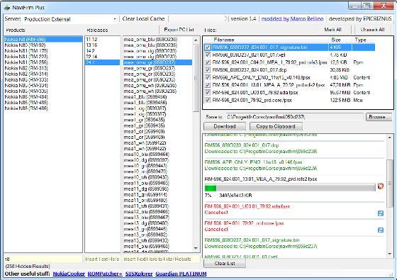 NaviFirmPlus_1.4 اخر اصدار من البرنامج الجميل