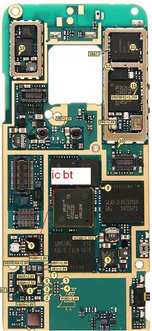 N73  غير قادر على اداء عمليه بلوتوث