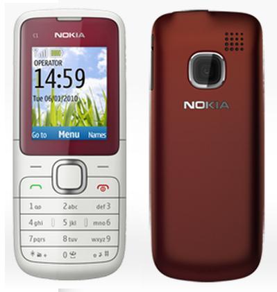 آخر إصدار من فلاشة نوكيا  C1-01 RM-607 V6.05