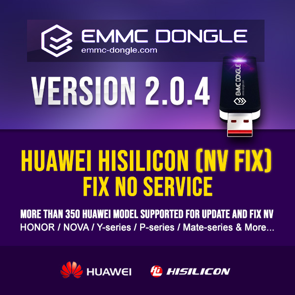 eMMC Dongle New Update 2.0.4 Release date: 10thJuly 2019